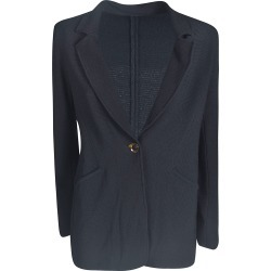 Giorgio Armani Oversized One Button Blazer