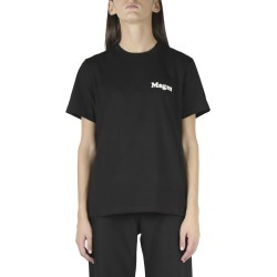 MSGM Bold Logo Crew Neck T-shirt In Black Cotton found on Bargain Bro UK from Italist