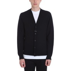 Mauro Grifoni Black Wool Cardigan found on Bargain Bro India from Italist Inc. AU/ASIA-PACIFIC for $187.00