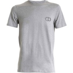 Dior Homme Dior Cd Embroidered Gray T-shirt found on Bargain Bro UK from Italist
