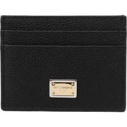 Dolce & Gabbana Black Card Holder In Calfskin found on Bargain Bro UK from Italist