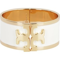 Tory Burch Enamel Brass Wide Bracelet With Logo found on Bargain Bro India from italist.com us for $212.52