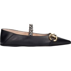 Gucci Ballet Flats In Black Leather found on MODAPINS from Italist for USD $789.25