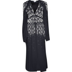 Attico V-neck Embellished Long Dress found on MODAPINS from Italist for USD $833.54