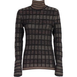 Antonio Marras Sweater L/s Turtle Neck Check Lurex found on MODAPINS from Italist for USD $362.88