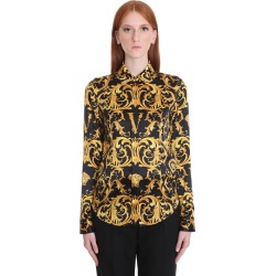 Versace Shirt In Black Silk found on Bargain Bro UK from Italist