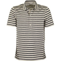 Brunello Cucinelli Polo Shirt With Slim Fit Shirt Collar In Light Linen And Cotton Jersey found on Bargain Bro UK from Italist
