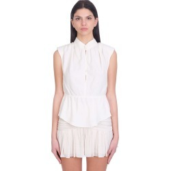 IRO Ailis Topwear In Beige Rayon found on Bargain Bro India from italist.com us for $281.80