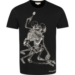 Alexander McQueen Printed Cotton T-shirt found on MODAPINS from italist.com us for USD $222.18