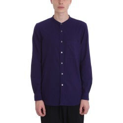 Attachment Purple Cotton Shirt found on MODAPINS from Italist for USD $272.06