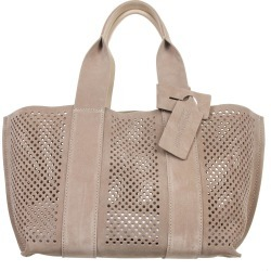Pedro Garcia Perforated Bag In Taupe Suede found on MODAPINS from italist.com us for USD $526.26