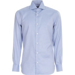 Barba Napoli Hopsack Shirt found on MODAPINS from italist.com us for USD $221.06