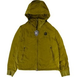 Blauer Unlined Jacket With Green Hood found on MODAPINS from italist.com us for USD $168.79