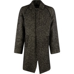 Laneus Mid-length Concealed Coat found on MODAPINS from italist.com us for USD $538.23