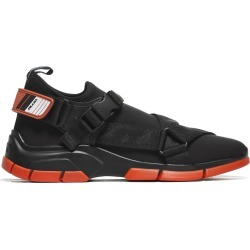 Prada Linea Rossa Buckle Sneakers found on MODAPINS from Italist for USD $373.56