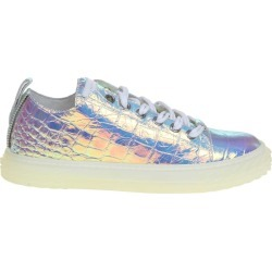Giuseppe Zanotti Sneakers Blabber Jellyfish In Iridescent Leather