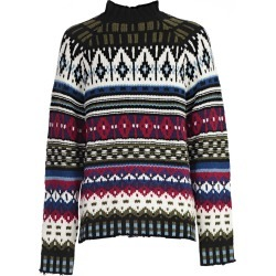 Msgm Intarsia Knit Sweater found on Bargain Bro India from Italist Inc. AU/ASIA-PACIFIC for $336.81