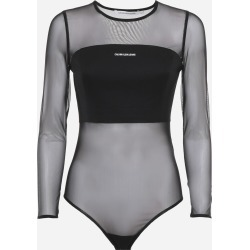 Calvin Klein Jeans Transparent Body In Stretch Mesh found on Bargain Bro UK from Italist