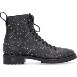 Jimmy Choo Cruz Studded Leather Combat Boots found on Bargain Bro UK from Italist