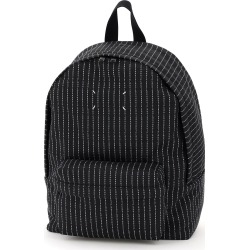 Maison Margiela Canvas Backpack With Logo Embroidery found on Bargain Bro Philippines from italist.com us for $749.95