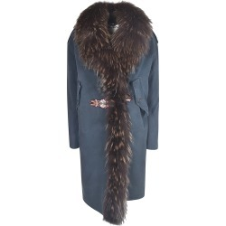 Bazar Deluxe Furry Detail Coat found on MODAPINS from Italist for USD $1505.87