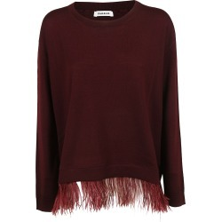 Parosh Applied Feather Sweater found on Bargain Bro India from Italist Inc. AU/ASIA-PACIFIC for $213.44