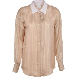 Forte Forte Multi-stripe Silk Shirt found on MODAPINS from italist.com us for USD $427.84