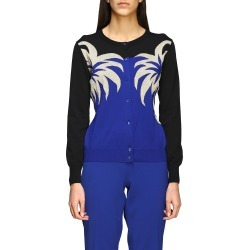 Boutique Moschino Sweater Boutique Moschino Cardigan With Palm Trees found on MODAPINS from Italist for USD $526.95