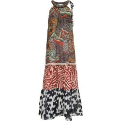 Anjuna Long Multicolor Cotton Dress found on MODAPINS from italist.com us for USD $596.82