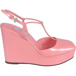 Prada Buckled Wedge Sandals found on MODAPINS from Italist for USD $605.13