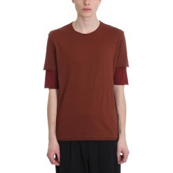 Attachment Bordeaux Cotton Double T-shirt found on MODAPINS from Italist Inc. AU/ASIA-PACIFIC for USD $212.91