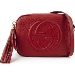 Gucci Soho Red Leather Disco Bag found on MODAPINS from Italist for USD $1262.43