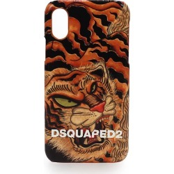 Dsquared2 Tiger Print Iphone X Cover found on Bargain Bro UK from Italist