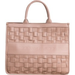 Marc Ellis Buby Braid Tote In Powder Leather found on MODAPINS from Italist for USD $136.17