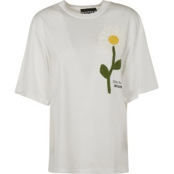 Moschino Knitted Flower Oversized T-shirt found on MODAPINS from Italist for USD $179.93