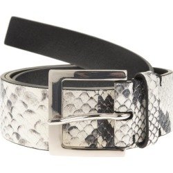 Python Print Leather Belt found on Bargain Bro Philippines from italist.com us for $350.31