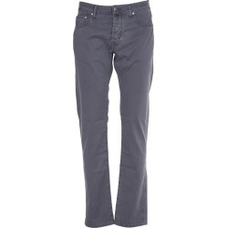 Jacob Cohen Grey Cotton Trousers found on MODAPINS from Italist for USD $255.11