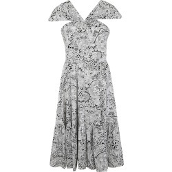 Alexander McQueen Floral Print Dress found on MODAPINS from italist.com us for USD $1010.57