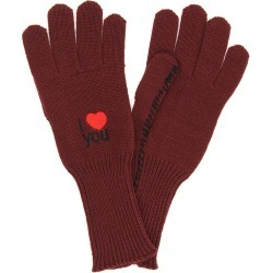 Raf Simons Wool Gloves I Love You found on Bargain Bro UK from Italist