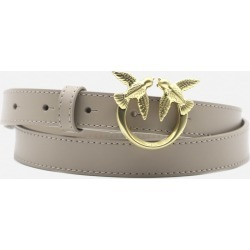 Pinko Leather Belt With Love Birds Buckle found on Bargain Bro UK from Italist