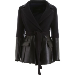 Blancha Wool And Shearling Jacket found on MODAPINS from Italist for USD $1368.13