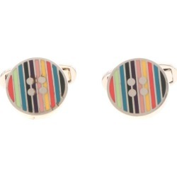 Button Cufflinks In Silver found on MODAPINS from Italist for USD $136.93