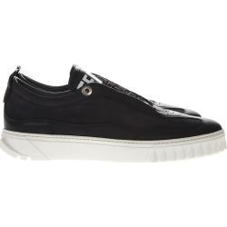 Salvatore Ferragamo Aaron Black Leather Sneakers found on Bargain Bro UK from Italist
