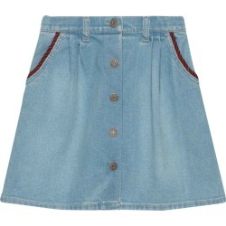 Gucci Denim Skirt found on MODAPINS from italist.com us for USD $427.30