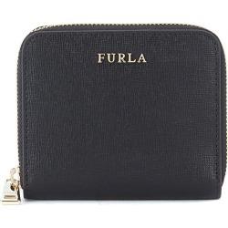 Furla Babylon Small Black Saffiano Leather Wallet found on Bargain Bro UK from Italist