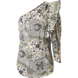 Isabel Marant Étoile Printed Detail One-sleeve Top found on Bargain Bro UK from Italist