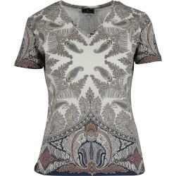 Etro V Neck T-shirt found on Bargain Bro India from italist.com us for $285.80