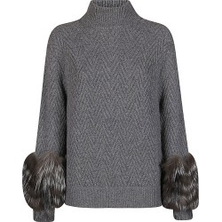 Agnona Grey Cashmere Jumper found on MODAPINS from Italist for USD $1572.86