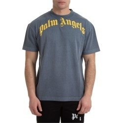 Palm Angels Curved Logo T-shirt found on Bargain Bro UK from Italist