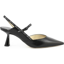 Jimmy Choo Black Ray Slingback Pumps
